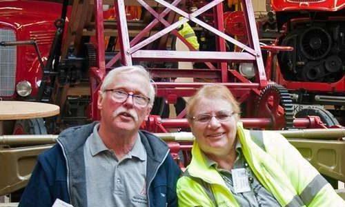 Elmenhorster hilft unserem Feuerwehrmuseum