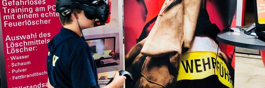 Digitalisierung in der Feuerwehrausbildung: Training und Ausbildung mit der HTC Vive Pro