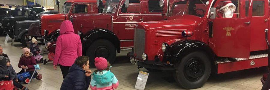 08.12.18 Der Nikolaus zu Besuch im Feuerwehrmuseum Bayern