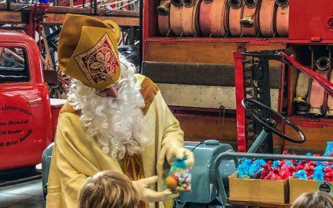 Am 08.12. besucht uns der Nikolaus